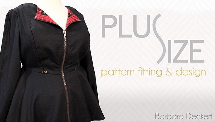 plus size pattern fitting