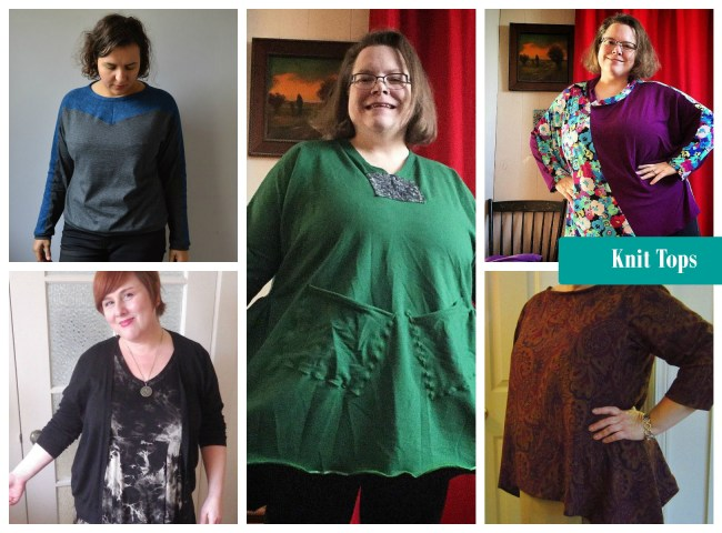 winter knits tops