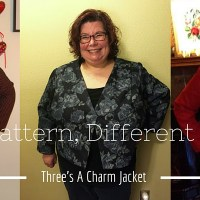 Same Pattern, Different Bodies: Three's a Charm Jacket (and a Giveaway!)