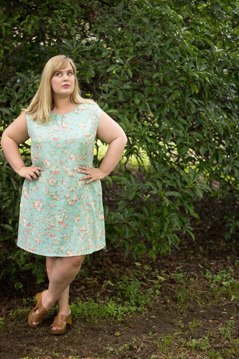 Pattern Review: Blank Slate Leralynn Dress