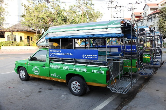 Getting around Hua Hin-Cha-Am