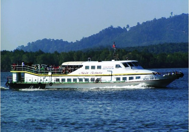 Getting to Pangkor Island