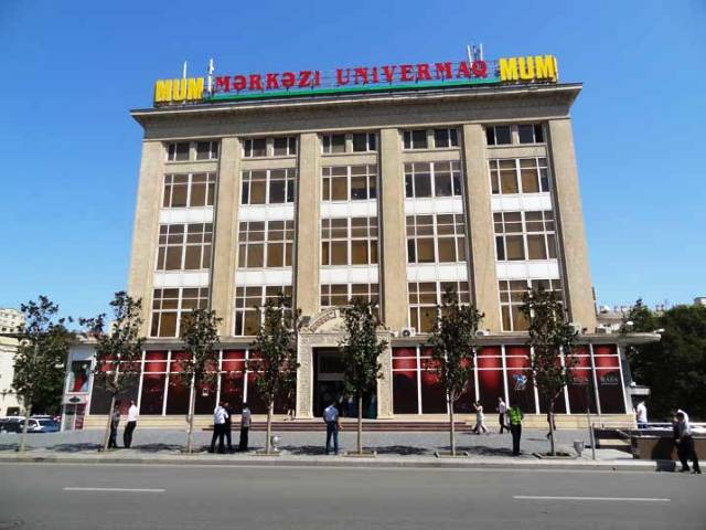 Shopping in Azerbaijan