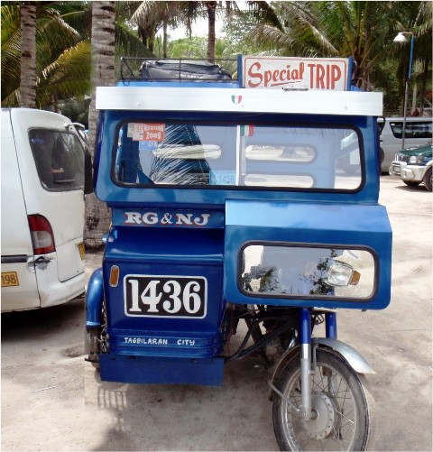 Getting around Bohol