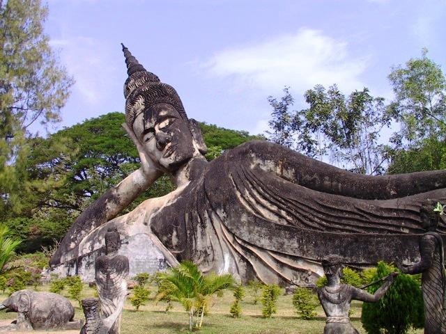 Buddha Park in Vientiane
