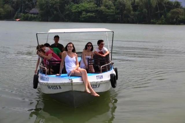 River Boat Riding in Nha Trang