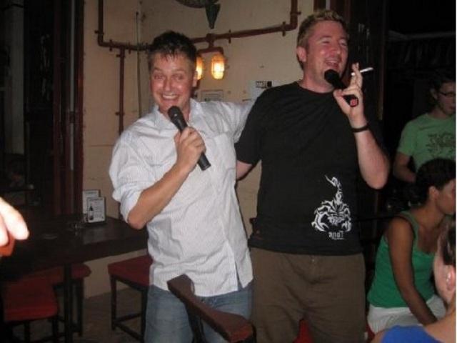 Karaoke in Siem Reap