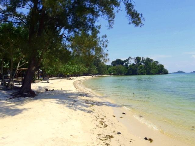 Melur Beach in Batam Island