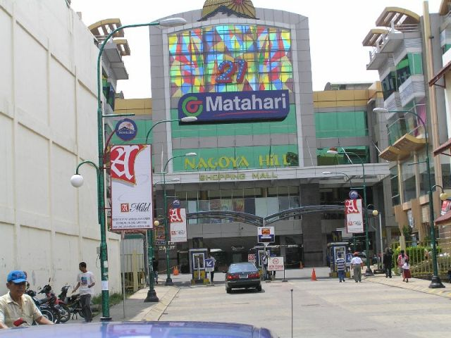 Nagoya Hill Shopping Mall in Batam Island