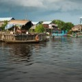 Kampong Phluk Floating Village in Siem Reap