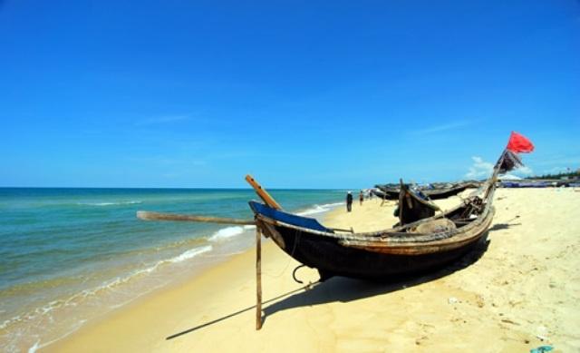 Thuan An Beach in Hue