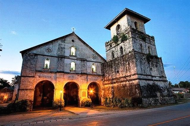 Baclayon Church in Bohol