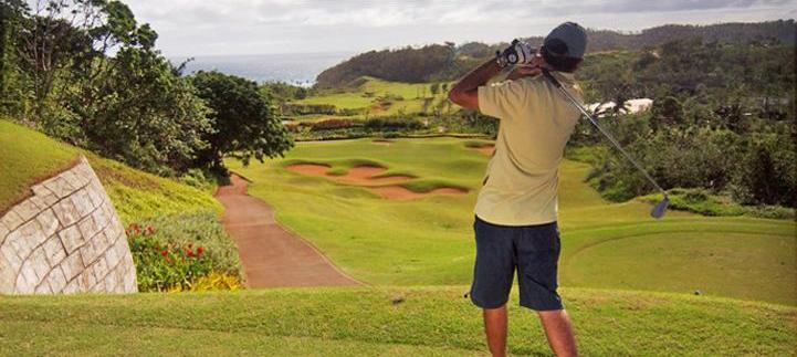 golfing in boracay