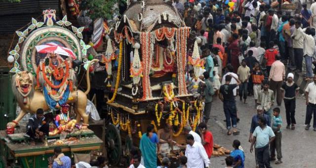 Colorful Culture And Festivals In Bangalore India