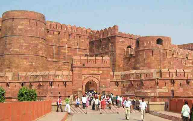 fort, agra, india
