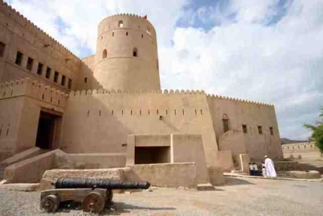 rustaq, oman, fort