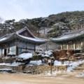 jeondeungsa, temple, korea, incheon