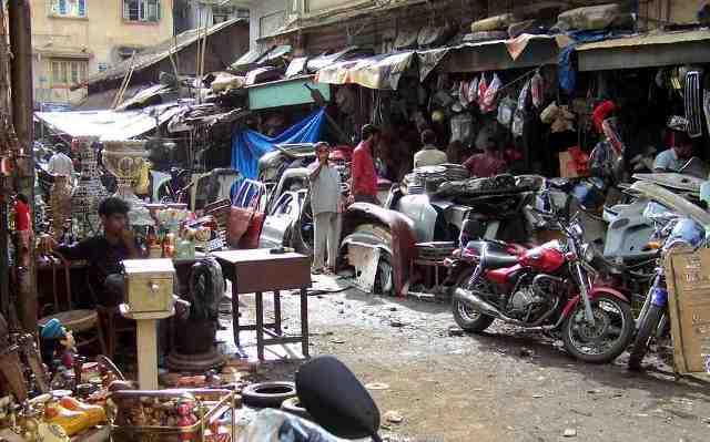 market, india, mumbai,