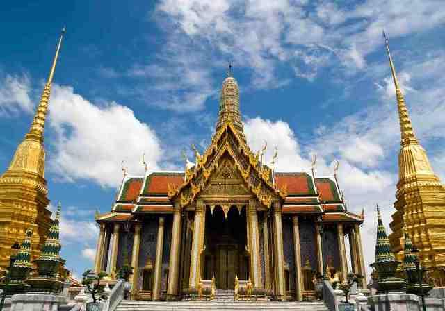 scared temple, bangkok, thailand