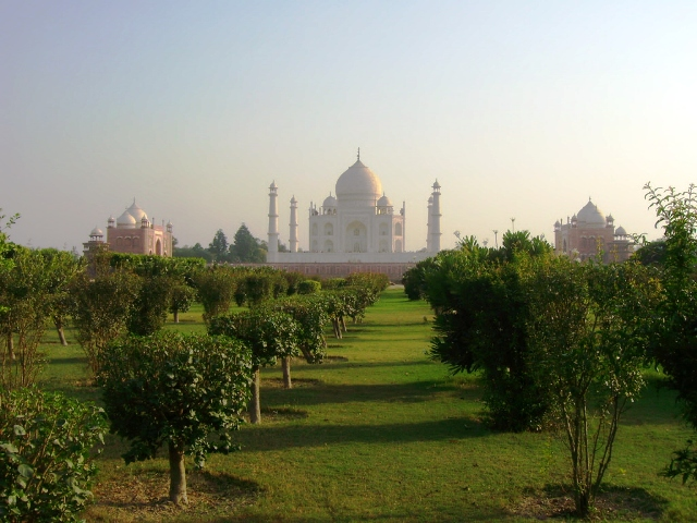 mehtab bagh, india, agra