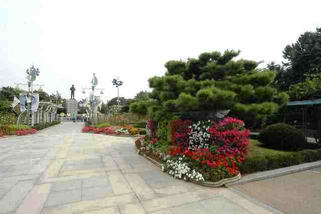jayu park, korea, incheon