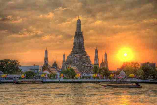wat arun, thailand, bangkok, temple