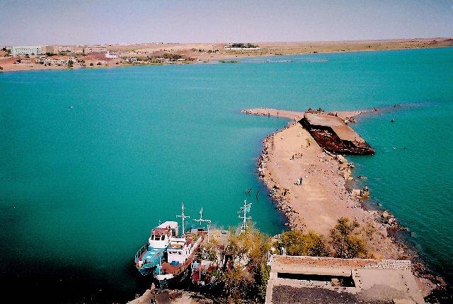 kazakhstan, balkhash lake, attraction