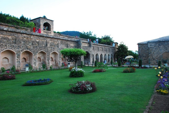 Beautiful gardens of Pari Mahal