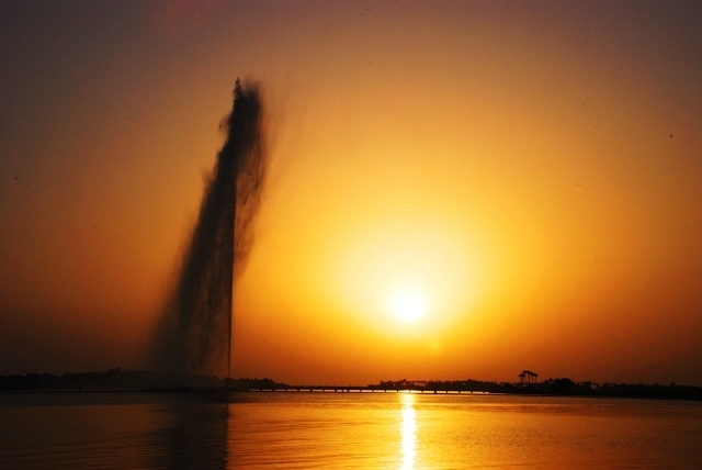 kings fountain, jeddah, saudi