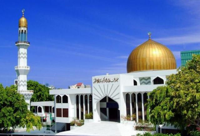 mosque, maldives, worship place