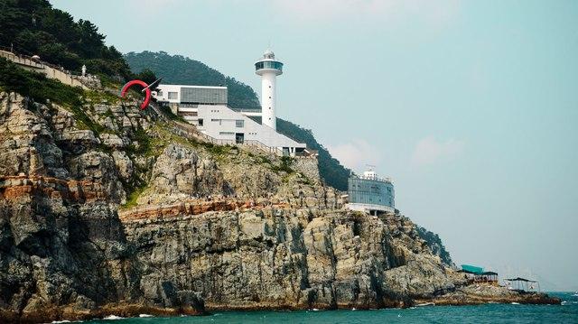 taejongdae, resort par, korea, busan