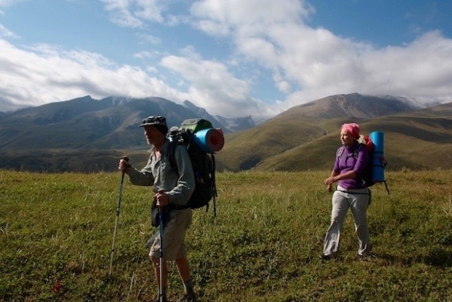 hiking, activity in kazakhstan