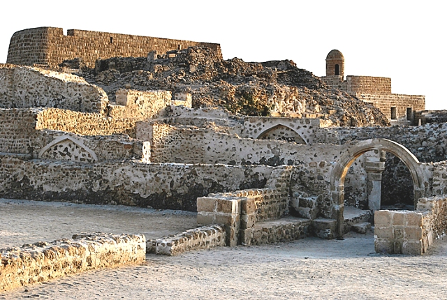 bahrain, fort, qal'at al