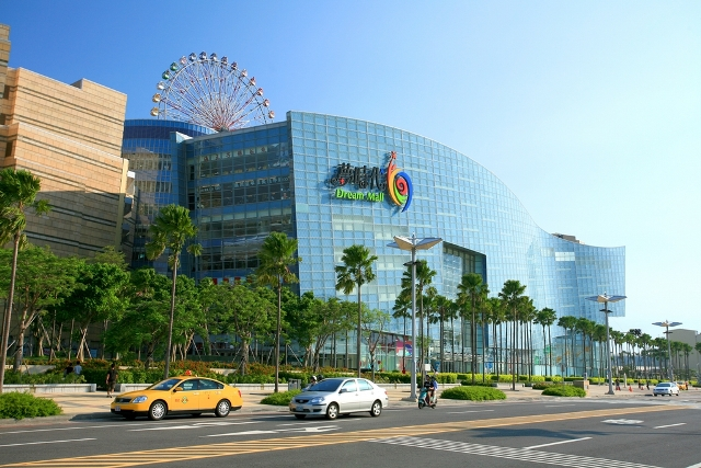 dream mall, kaohsiung, taiwan