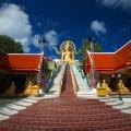 temple, thailand, samui, wat phra yai