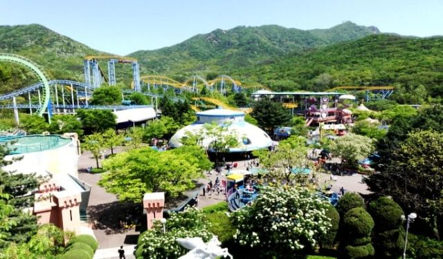 seoul land park, korea,