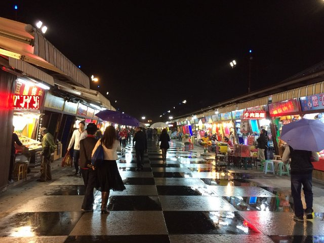 shopping, night market, taiwan, hualien