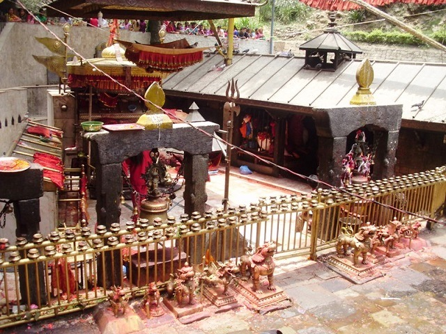 dakshinkali temple, nepal, kathmandu