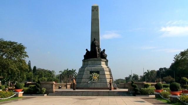 rizal park, manila, philippines