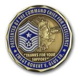 Command Chief Coin