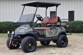 custom golf cart painting Columbia