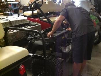 golf cart service Columbia