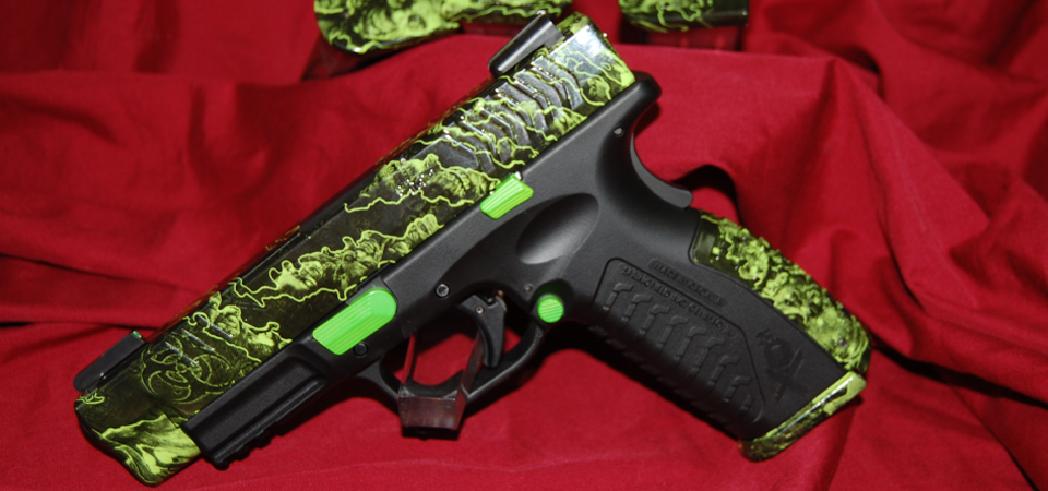 Springfield XDM - Reaper Z Hydrographics