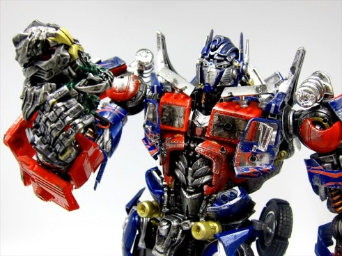 custom optimus prime