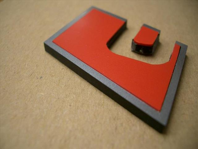 C5/C6/C7 Allroad Sport Badges – Rear (version 2)