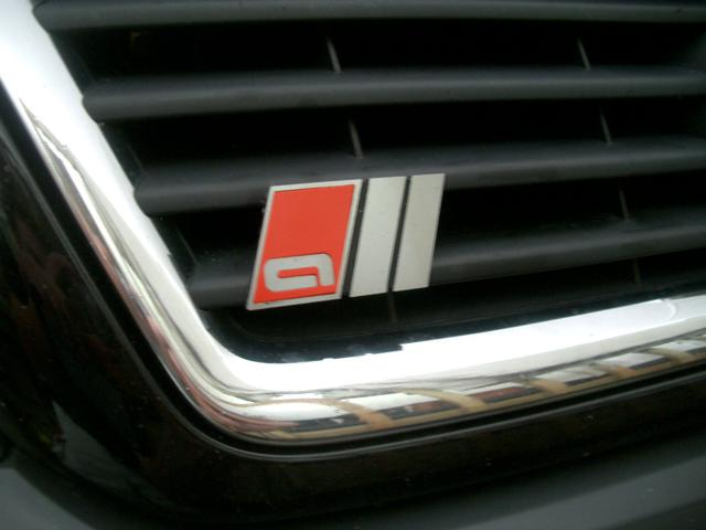 """99-05 Allroad Sport Badges – Front Grille – """"all"""" style"""