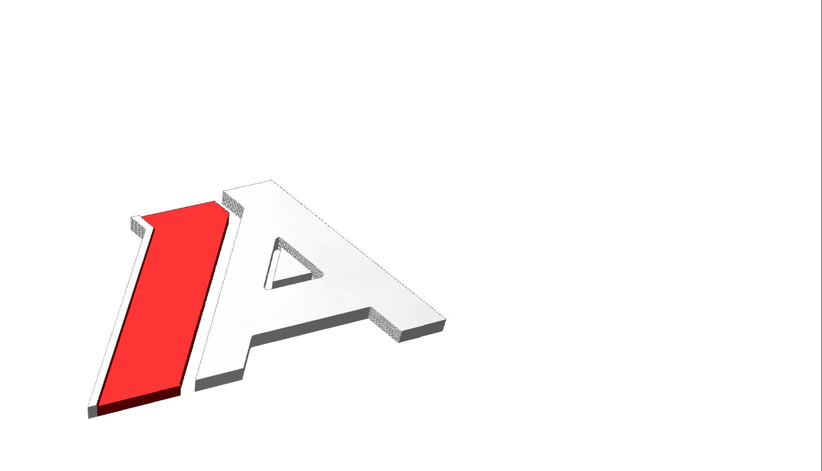 "Think: Audi ""A"" Badge"