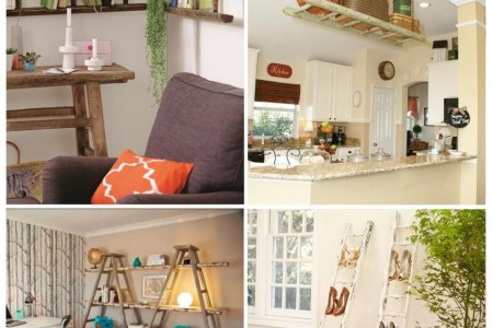 diy ladder shelves1 954x1024