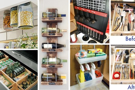 45 small kitchen ization and diy storage ideas cover