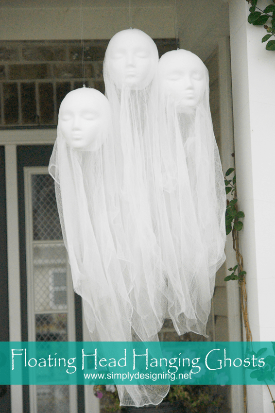 PB Knock-Off Hanging Ghosts
